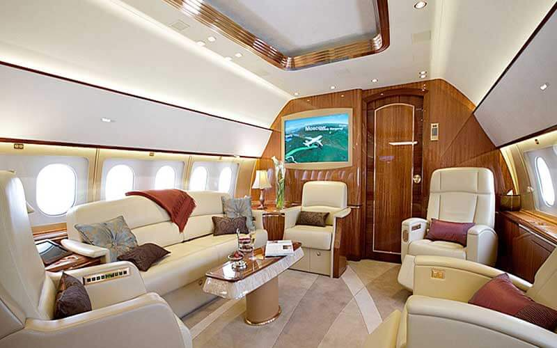 Airbus 319 Corporate Jet Seats: 19 Range: 7h