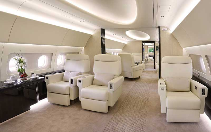 Airbus 319 Corporate Jet Interior